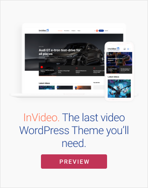 InVideo Theme by ThemeStash